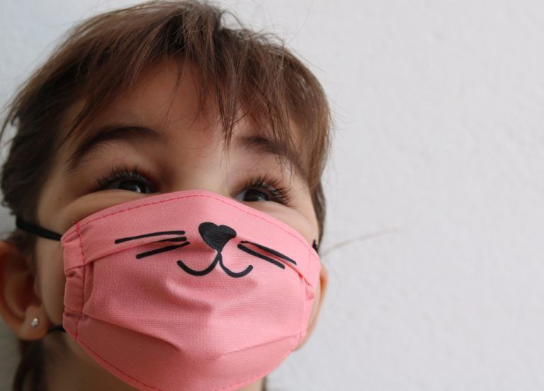 Mascarilla nariz de gato