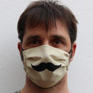 Mascarilla bigote