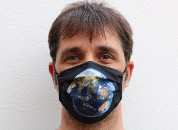 Mascarilla Save The Planet Adulto