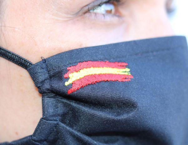 Mascarilla Adulto Ángel Iglesias Bandera España