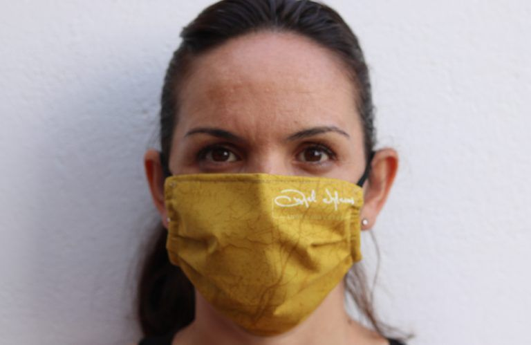 oil texture unisex mask