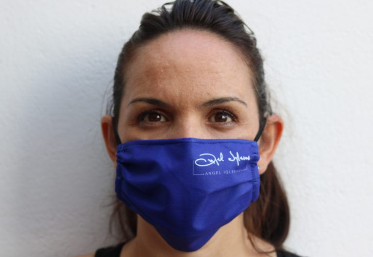 INK BLUE MASK unisex