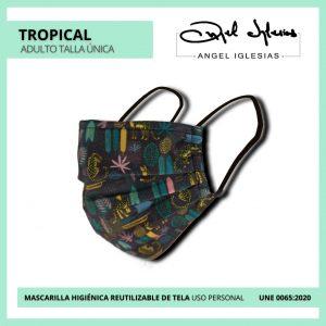 Mascarilla Ángel Iglesias Adulto Tropical