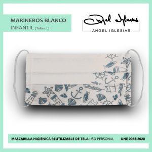 Mascarilla Infantil Ángel Iglesias Marineros